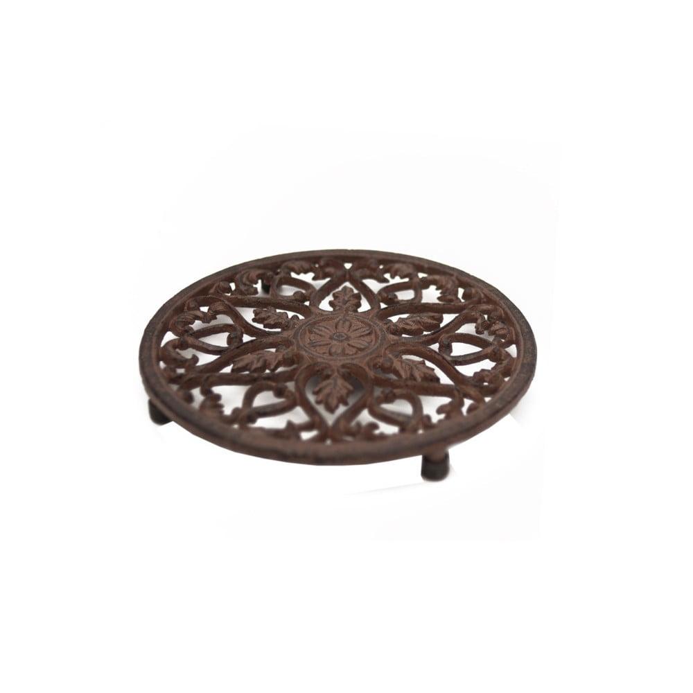 Kovová podložka pod horké nádoby Antic Line Flower