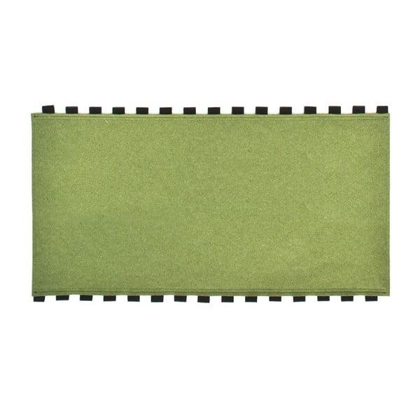 Tapperello Green, koberec 120x65 cm
