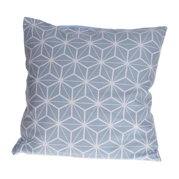 Polštář ewax Geometric Blue, 40x40 cm