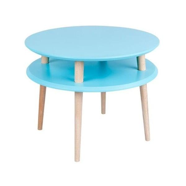 Tmavě tyrkysový konferenční stolek Ragaba UFO,⌀57cm
