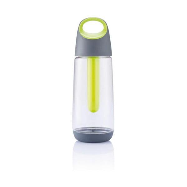 Butelka chłodząca z limonkowym wkładem XD Design Bopp,700ml