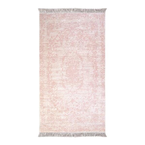 Różowy dywan Vitaus Hali Gobekli, 80x150cm