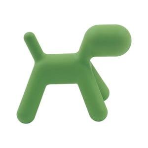 Zelená stolička Magis Puppy, délka56 cm
