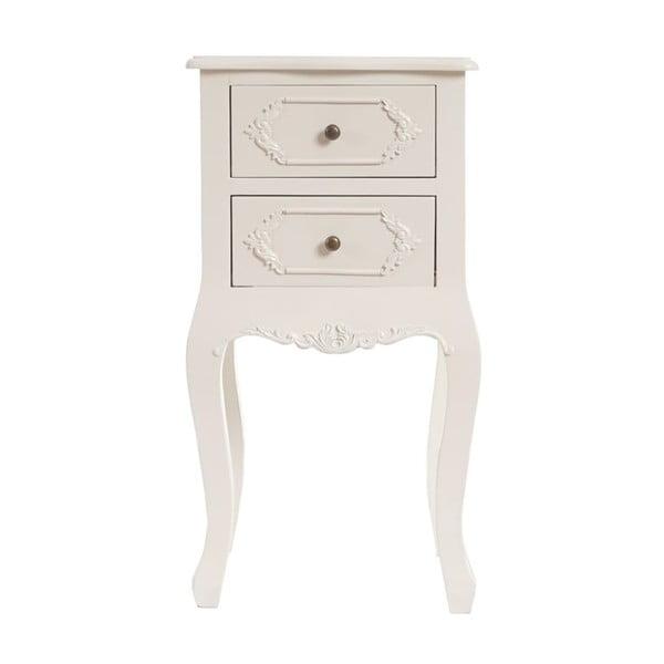 Noční stolek Baroque Creamy White