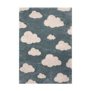 Dětský modrý koberec Zala Living Cloud,120x170cm