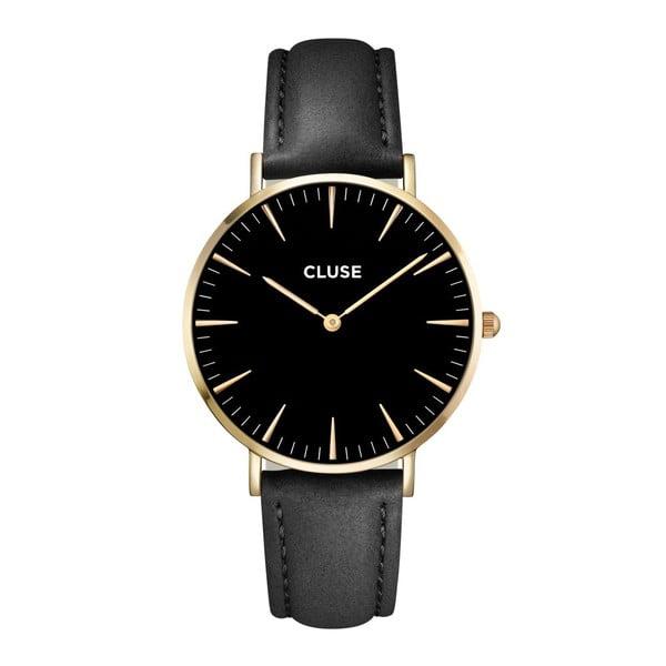 Hodinky Cluse La Bohéme Gold Black/Black
