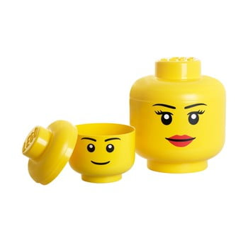 Figurină depozitare LEGO® Girl, Ø 24,2 cm imagine