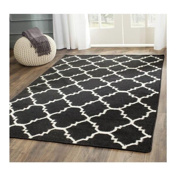 Vlněný koberec Darien Dark, 121x182 cm
