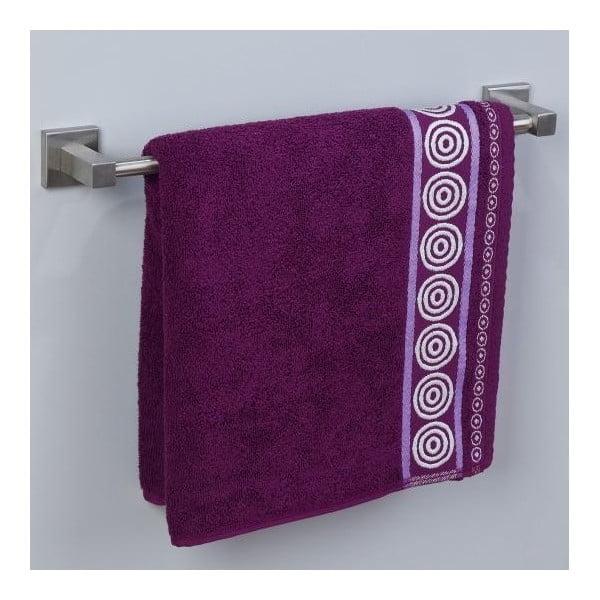 Ručník Fraza Rondo Purple, 70x140 cm
