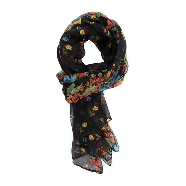 Šátek Daisy Black
