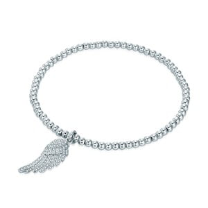 Dámský náramek stříbrné barvy Tassioni Wings
