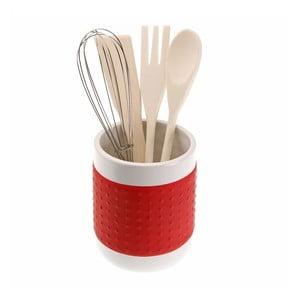 Suport pentru ustensile de bucătărie Versa, roșu