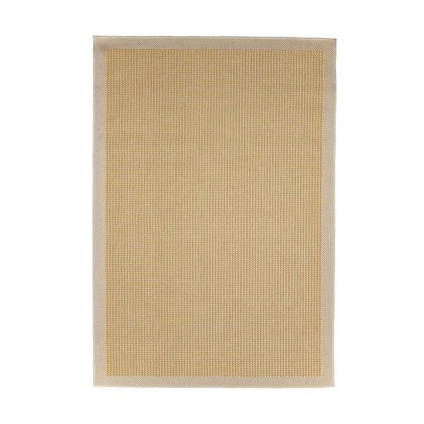 Žltý vysokoodolný koberec vhodný do exteriéru Floorita Chrome Yellow, 160x230cm