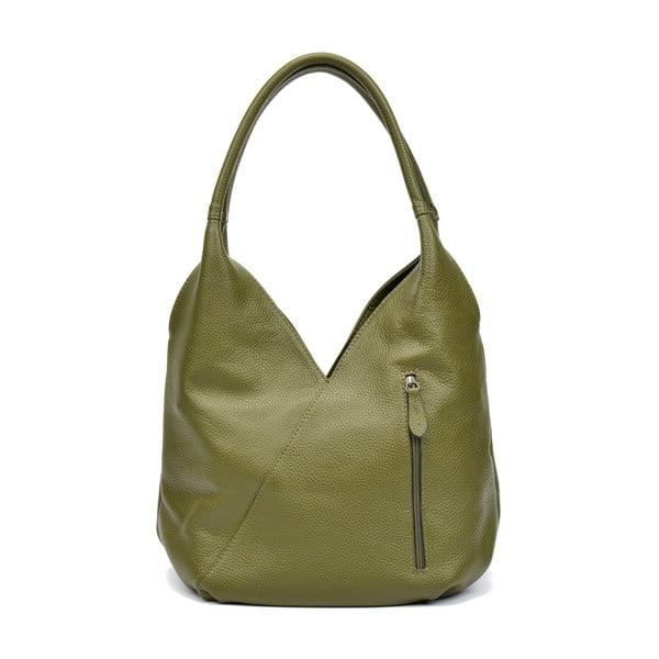 Zielona torebka skórzana Roberta M Brigida