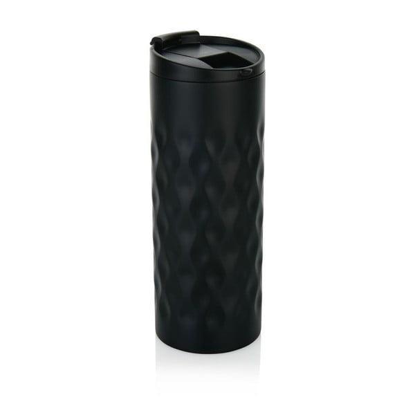 Čierny termohrnček XD Design Geometric, 350 ml