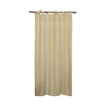 Draperie Linen Cuture Cortina Hogar Yellow Stripes, galben imagine