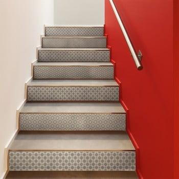 Set 2 autocolante pentru scări Ambiance Stair Jakob, 15 x 105 cm de la Ambiance