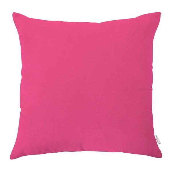 Růžový povlak na polštář Apolena, 43x43cm