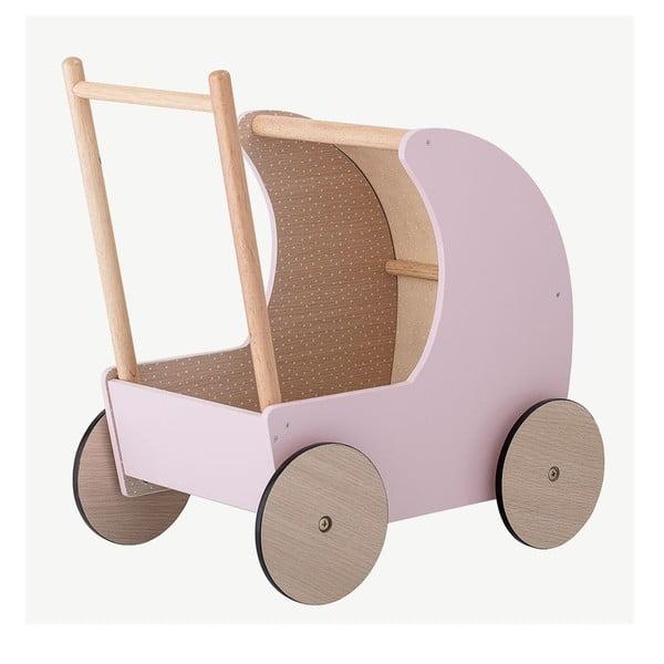Dziecięcy drewniany wózek Bloomingville Toy Pram