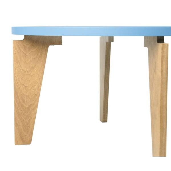 Modrý konferenční stolek TemaHome Magnolia
