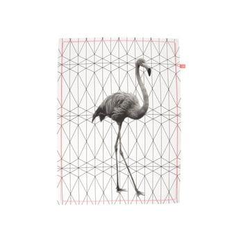 Prosop de bucătărie Present Time Flamingo de la Present Time