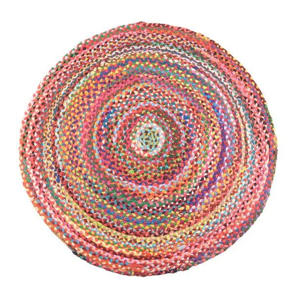 Bavlněný koberec InArt Boho, průměr120cm