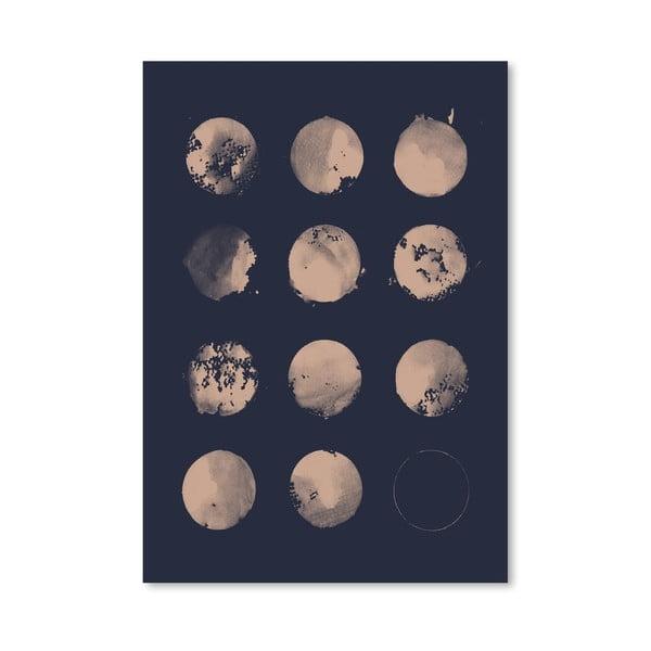 Plakát 12 Moons od Florenta Bodart, 30x42 cm