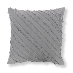 Față de pernă La Forma Delia, 45 x 45 cm, gri