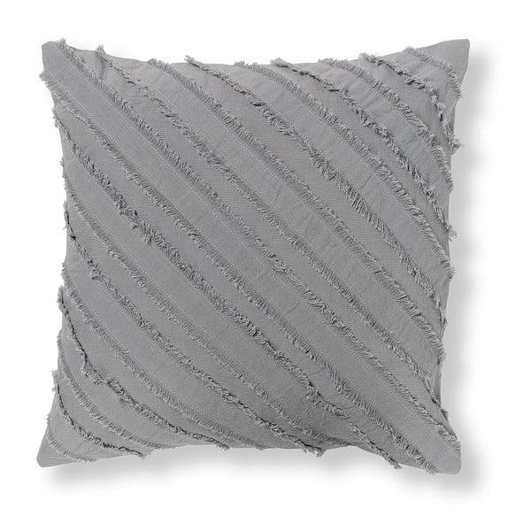 Šedý povlak na polštář La Forma Delia, 45 x 45 cm