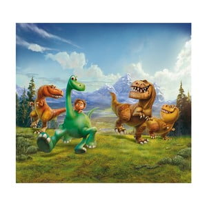 Foto závěs AG Design Hodný Dinosaurus, 160x180cm