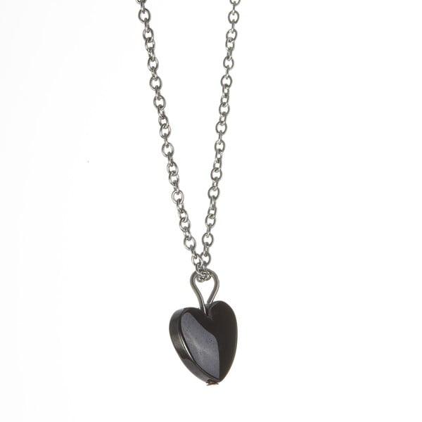 Náhrdelník Black Heart od Lucie Markové