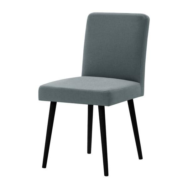 Mentolově zelená židle s černými nohami z bukového dřeva Ted Lapidus Maison Fragrance