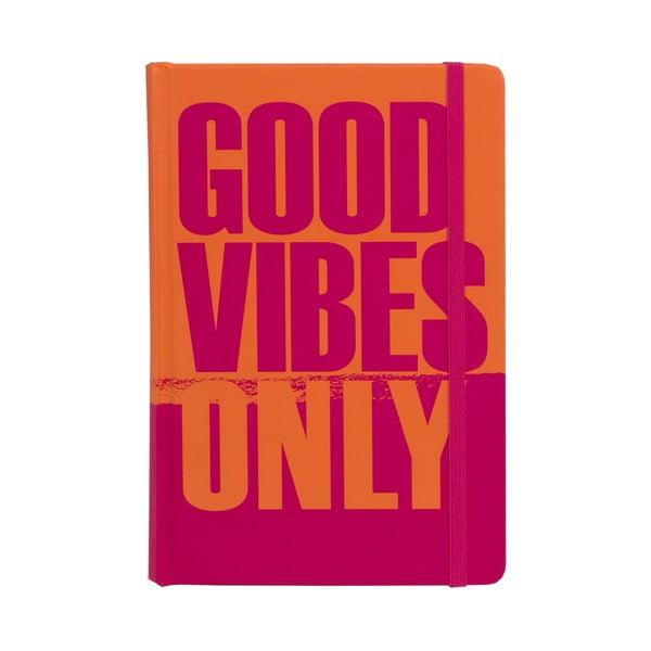 Zápisník Tri-Coastal Good Vibes Only