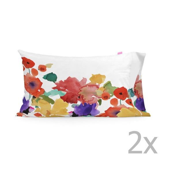 Sada 2 povlaků na polštář Happy Friday Fun Garden,50x80cm
