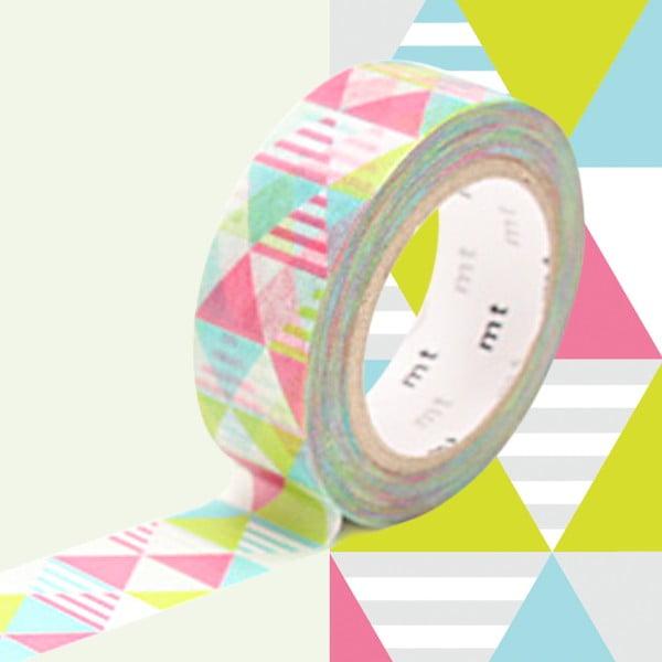 Bandă decorativă Washi MT Masking Tape Virginie, rolă 10 m