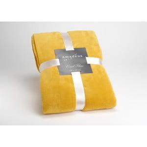 Deka Mustard Doudou, 170x130 cm