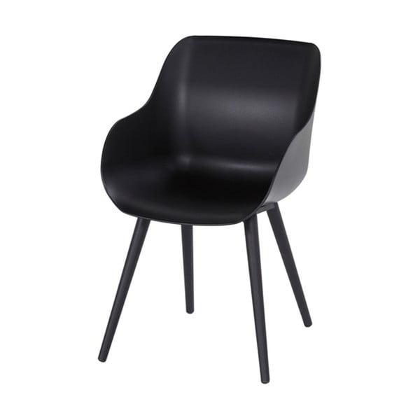 Sada 2 čiernych záhradných stoličiek Hartman Sophie Organic Studio Chair