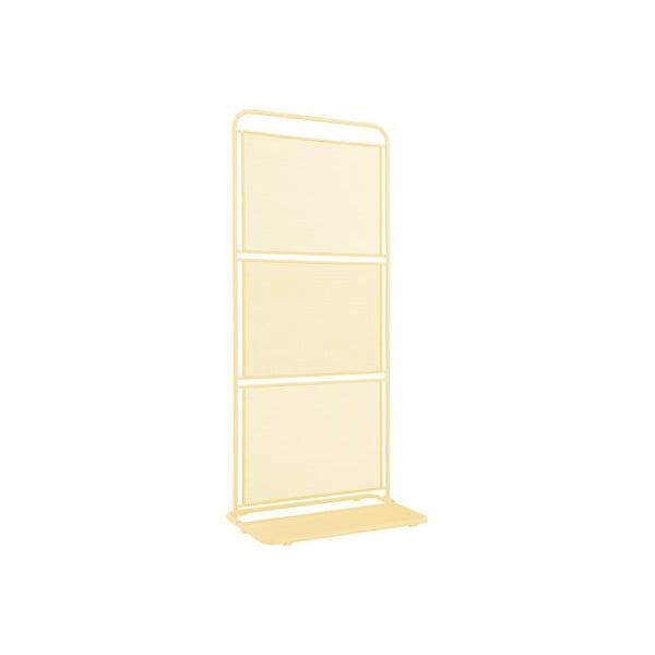 MWH sárga fém balkon paraván, 180 x 80 cm - ADDU