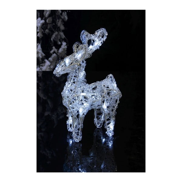Svítící dekorace Standing Deer