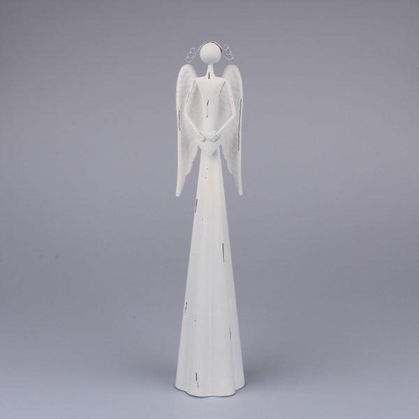Bílý anděl se srdcem Dakls