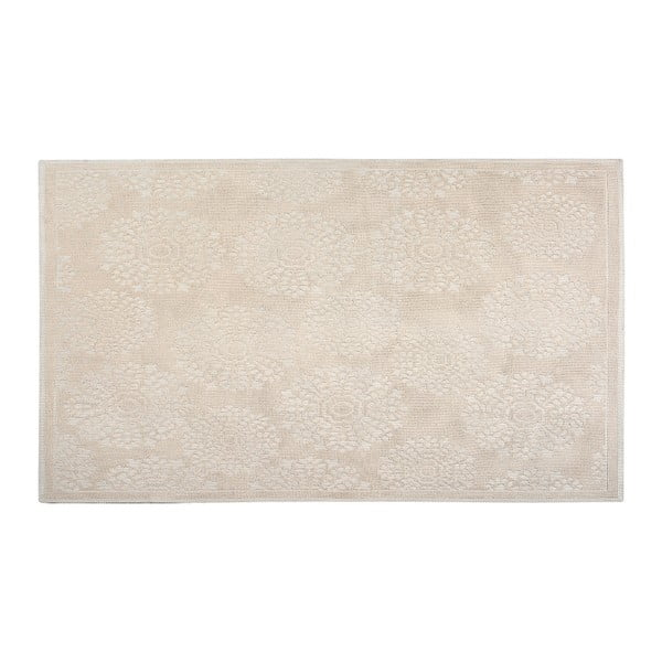 Bavlněný koberec Ganda 80x150 cm, krémový