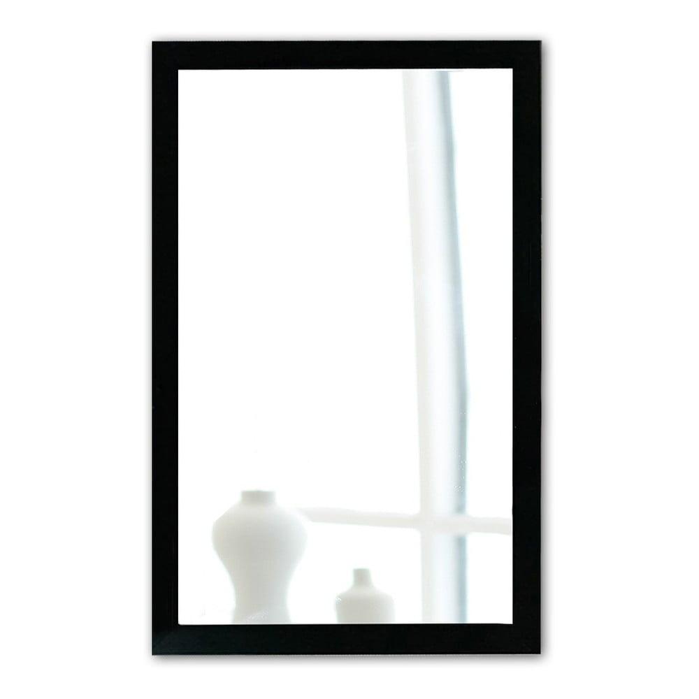 Nástěnné zrcadlo s černým rámem Oyo Concept, 40 x 55 cm
