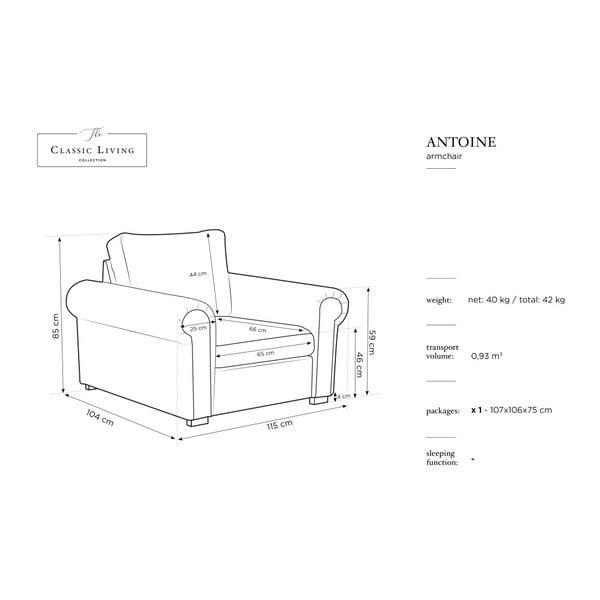 Béžové křeslo Windsor & Co Sofas Hermes