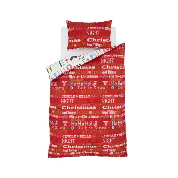 Povlečení Christmas Slogan, 135x200 cm