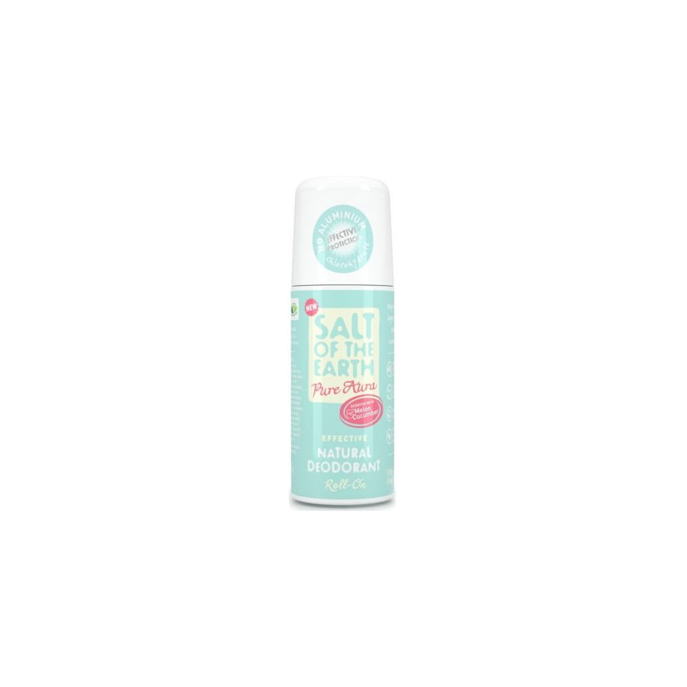Deo roll-on s vůní melounu a okurky Salt of the Earth Pure Aura, 75 ml