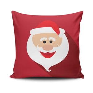 Pernă  Happy Santa Face, 45x45 cm