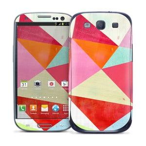 Samolepka na Samsung Galaxy S III, Pink Triangle