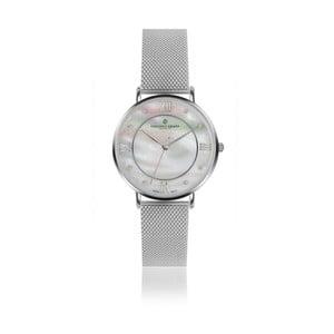 Dámské hodinky s páskem z nerezové oceli ve stříbrné barvě Frederic Graff Silver Liskamm Silver Mesh