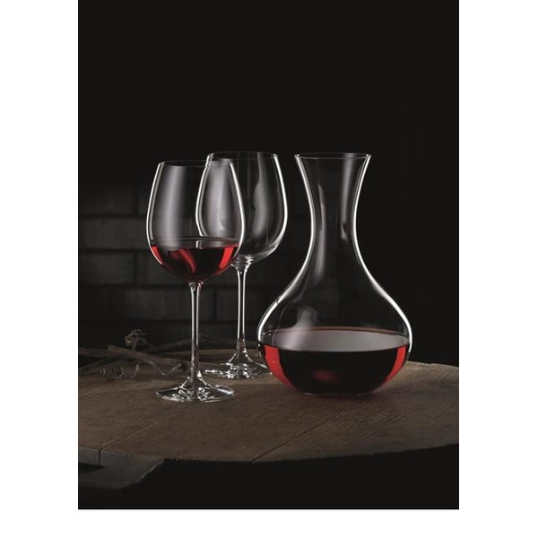 Set karafy a 4 pohárov na víno z krištáľového skla Nachtmann Vivendi Premium Decanter Set