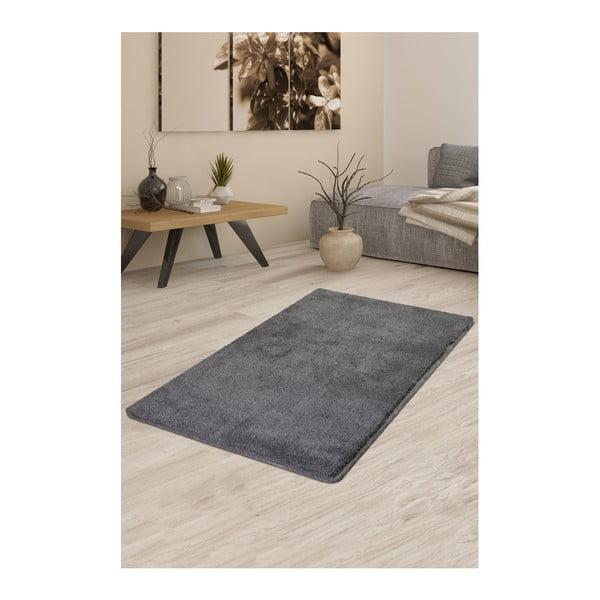 Šedý koberec Milano, 140x80cm